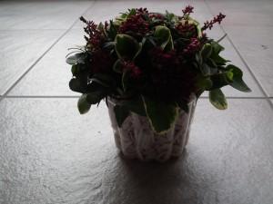 bloemstukje biedermeier